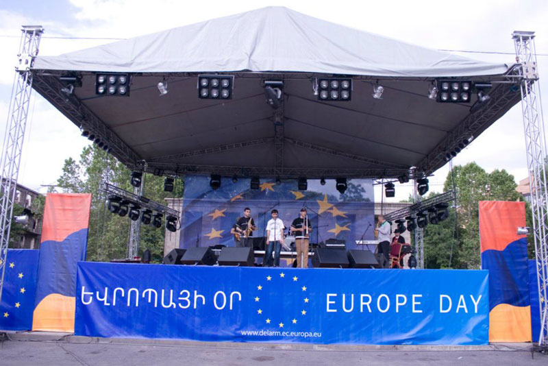 Europe Day in Armenia 2010