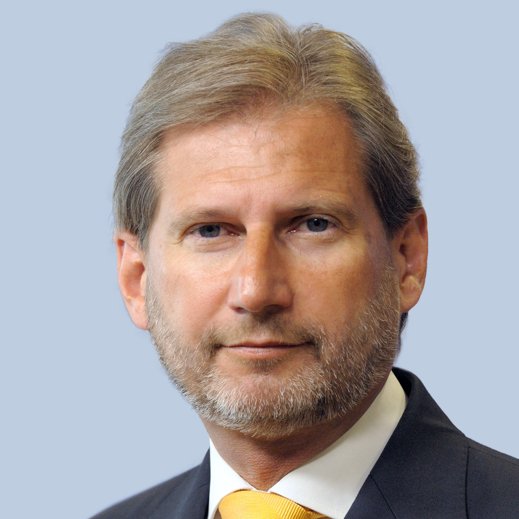 Commissioner for Enlargement and European Neighbourhood Policy Johannes Hahn