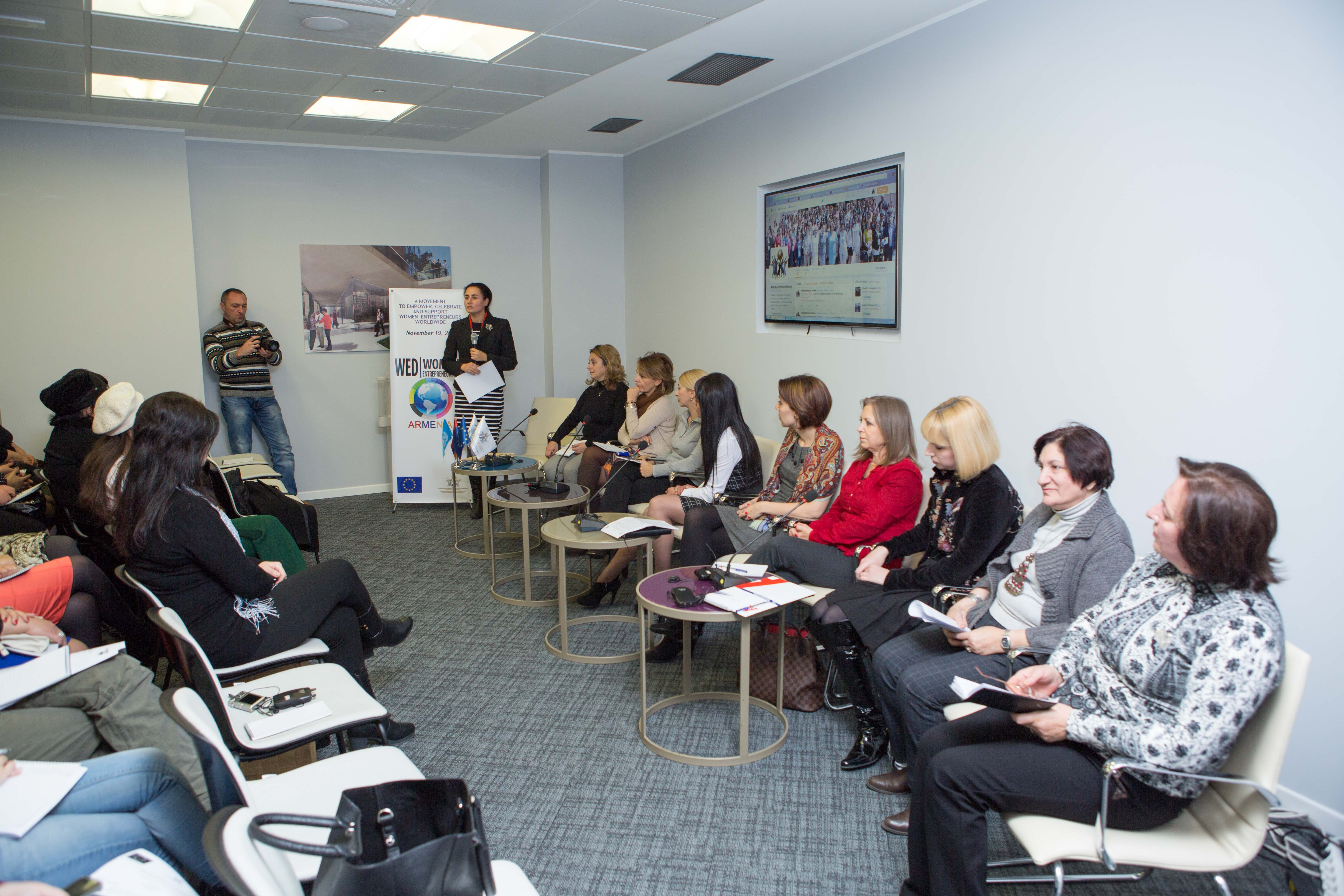 Women's Entrepreneurship week in Armenia