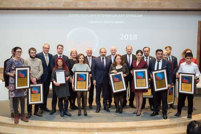 Universal Rights Award Ceremony 2018