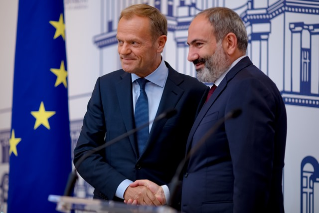 The visit of the President of the European Council to Armenia